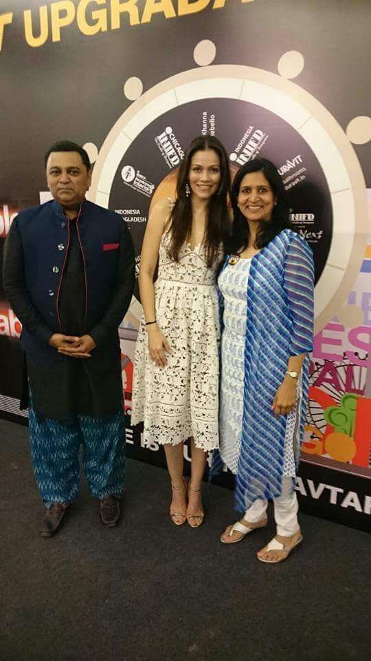 With Waluscha D Souza and Ashley Rebello