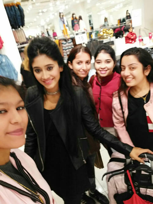 Shruti Nayak with TV Actress Shivangi Joshi