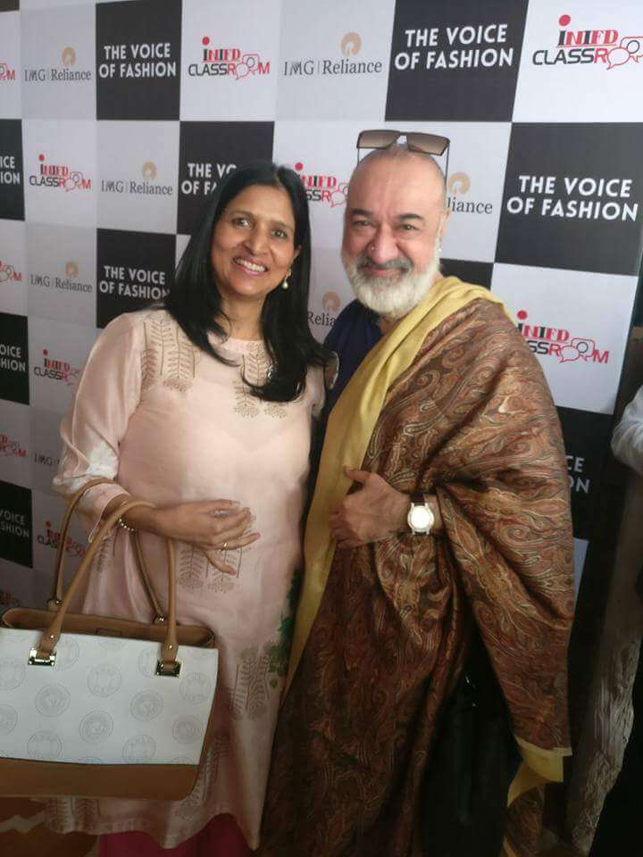 With Fashion Designer Kawaljith Singh